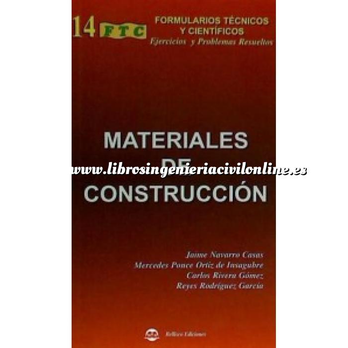 Librer a ingenier a civil on line materiales general - Materiales de construccion on line ...